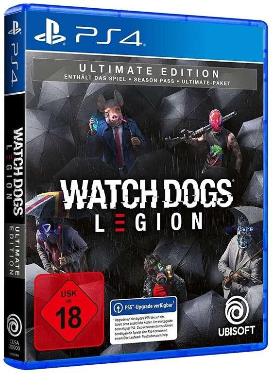 Watch Dogs: Legion (Ultimate Edition) für PlayStation 4 ab 24,99€ (statt 46€) - PS5 ab 35€