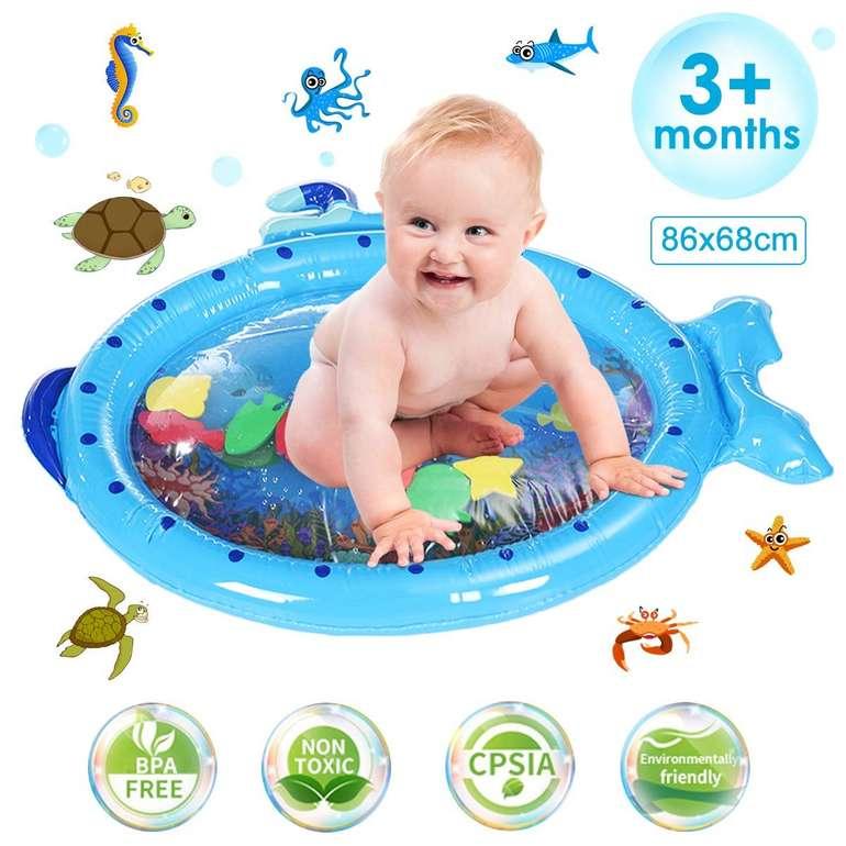 Jeteven Baby Wasserspielmatte für 7,49€ inkl. Prime Versand (statt 14€)
