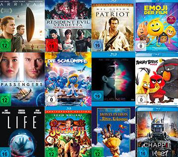 Media Markt Wunschfilmwochen: Verschiedene Blu-rays für je 5,55€ (z.B. Bad Boys)