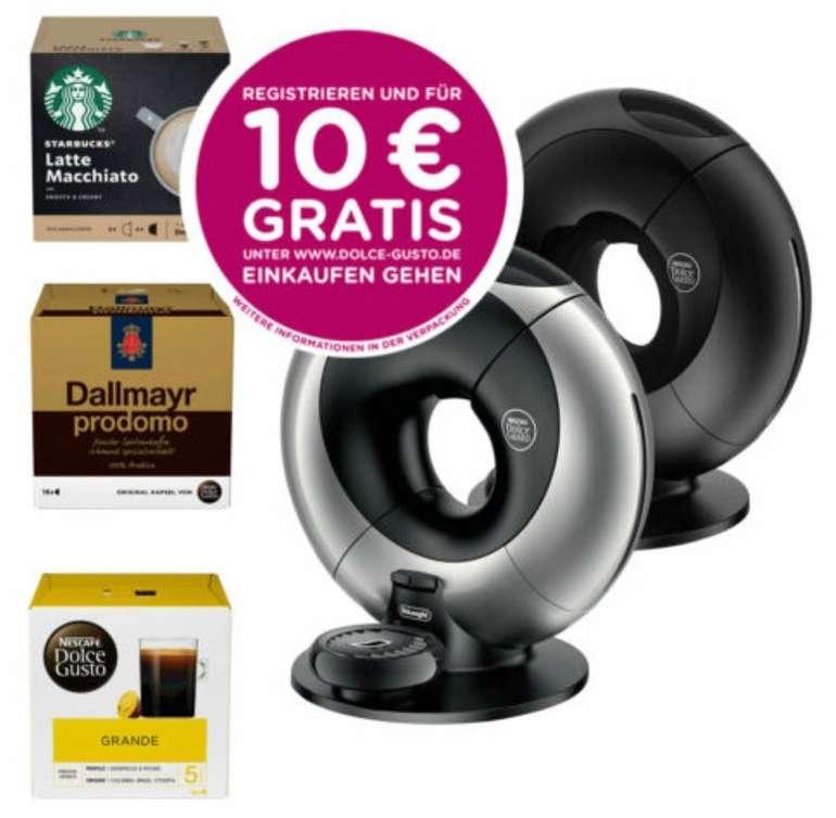 DeLonghi EDG 736/7 Eclipse Nescafé Dolce Gusto Kaffeemaschine + 3 Pakete Dolce Gusto Kapseln für 80,99€