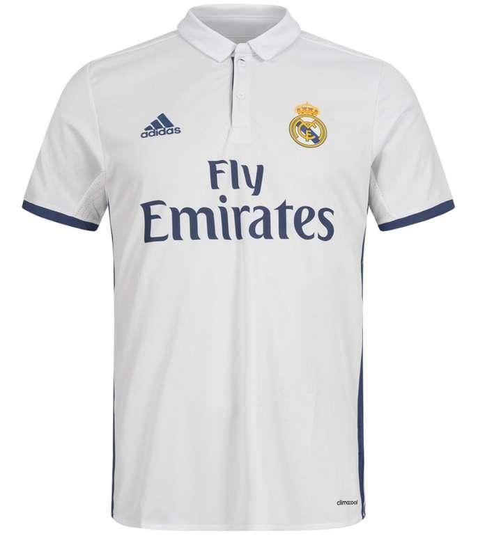 Adidas Fanartikel Sale mit bis zu 92% Rabatt - z.B. Real Madrid Trikot für 24,99€ (statt 90€)