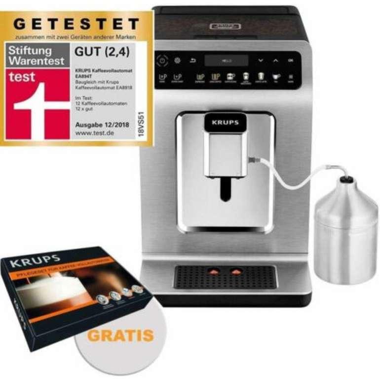 Krups EA894T Kaffeevollautomat (15 bar, 1450W) + gratis ZES600 Pflegeset für 599€