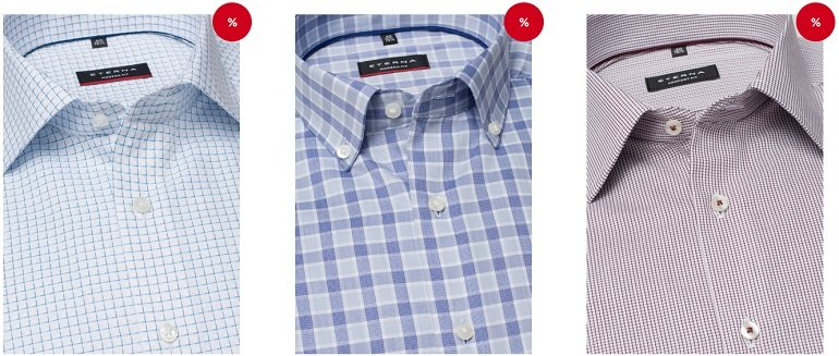 Eterna Hemden Sale