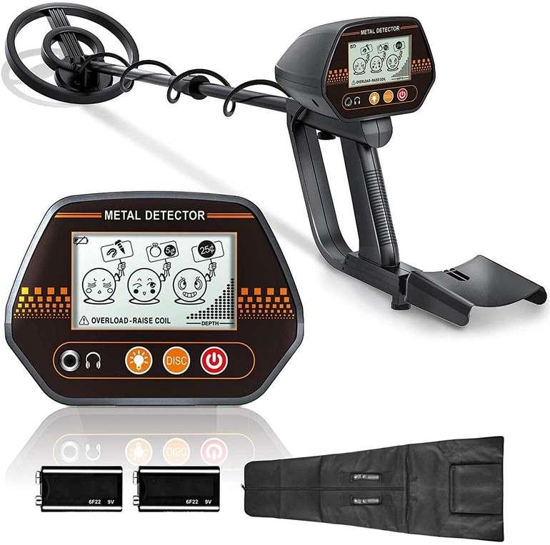 Niyeye Metalldetektor (80-105cm, IP66, Höhenverstellbare Sonde) für 32,99€ inkl. Versand (statt 48€)