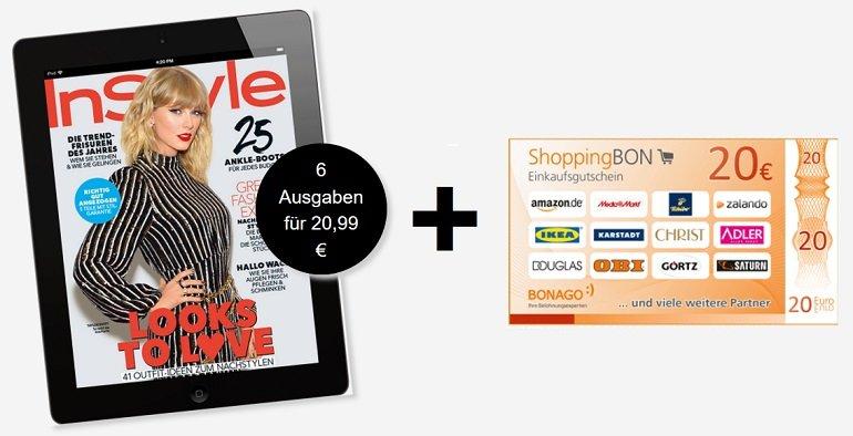 6 x Ausgaben InStyle digital ePaper