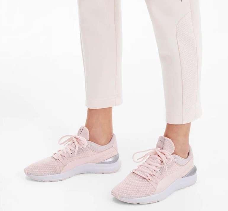 Puma: 20% Rabatt auf ausgewählte Styles zum Valentinstag - z.B. Adela Damen Sneaker für 48€ (statt 60€)