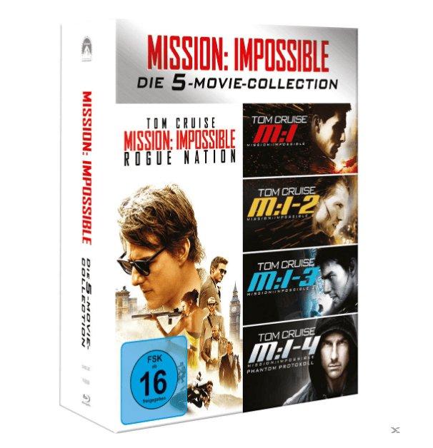Mission Impossible 1-5 Boxset (Blu-ray) für 9,14€ inkl. Versand