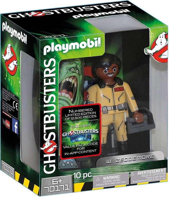 Playmobil Ghostbusters im Angebot, z.B. 70171 W. Zeddemore für 9,99€ (statt 17€)