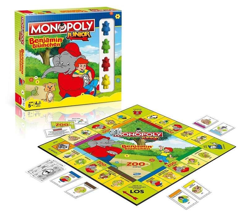 Winning Moves Monopoly Junior - Benjamin Blümchen (44871) für 15€ inkl. VSK (statt 21,74€)