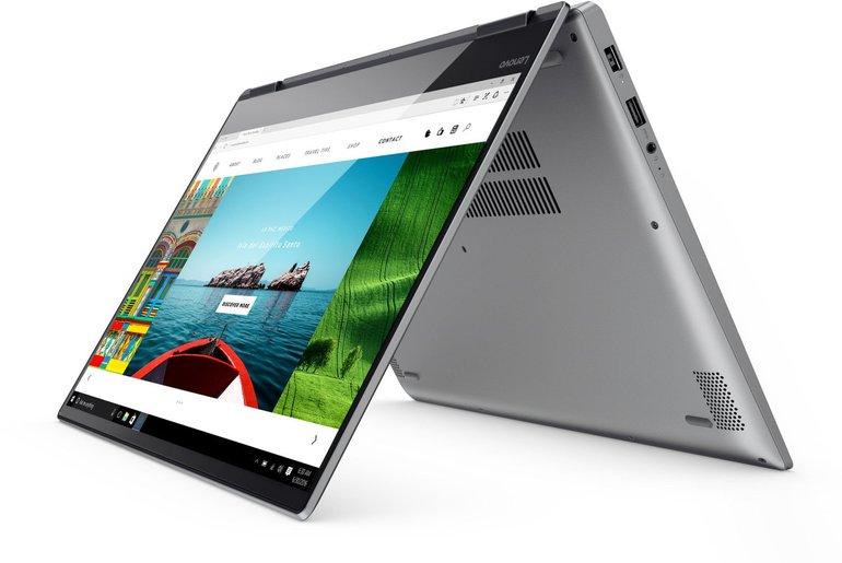 Lenovo YOGA 720-15IKB (15.6 Full-HD IPS, i5-7300HQ, 8GB, 512GB SSD, GTX 1050) für 777€ (statt 900€)