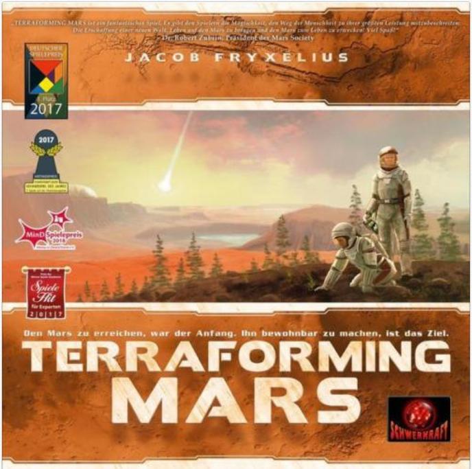 Terraforming Mars für 48€ inkl. Versand (statt 60€) + weitere Brettspiele