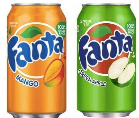 12er Pack Fanta Strawberry, Green Apple, Mango & Grape (aus den USA) je 15,90€