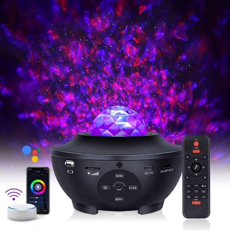3 Sternenhimmel Projektoren bei Amazon reduziert, z.B. Eshunqi WiFi Projektor für 29,99€