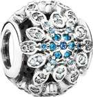 Pandora Charm Eisblaue Schneeflocke 925er Silber für 33,25€ (statt 58€)