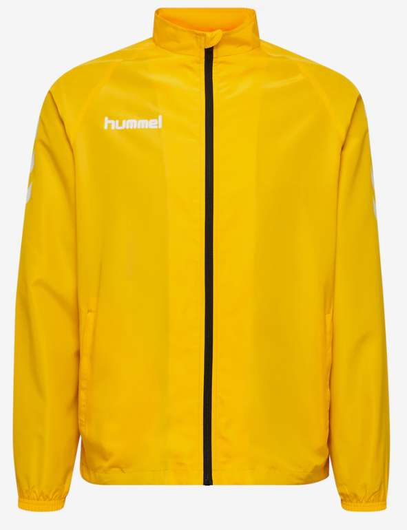 Hummel Core Herren Jacke in Gelb für 17,98€ inkl. Versand (statt 21€)