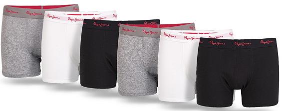 6er Pack Pepe Jeans Boxershorts für 34,94€ inkl. Versand (statt ca. 55€)