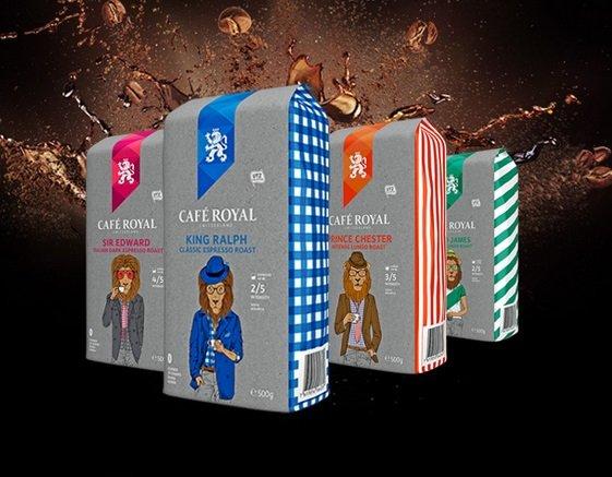 Café Royal: 30% Rabatt auf alles ab 39€, z.B. 2,5kg King Ralph Bohnen für 27,96€