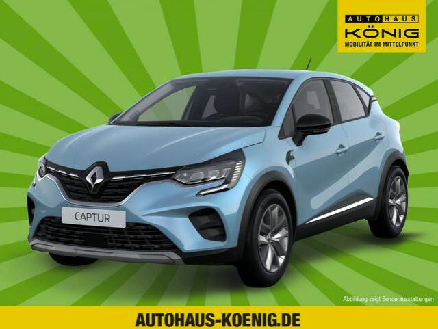 Gewerbeleasing: Renault Captur mit 90 PS und Ganzjahresreifen für 55€ netto mtl. (LF: 0.28, Bereitstellung: 799€)