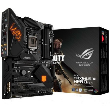 Asus Mainboard ROG Maximus XI Hero WiFi (Call of Duty Black Ops Edition) zu 314€
