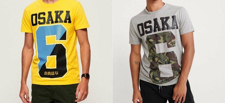 Superdry Herren Osaka T-Shirts 2
