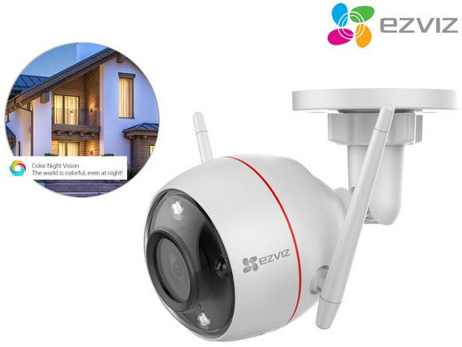 Ezviz C3W Kamera mit Farbnachtsicht für 75,90€ inkl. Versand (statt 110€)