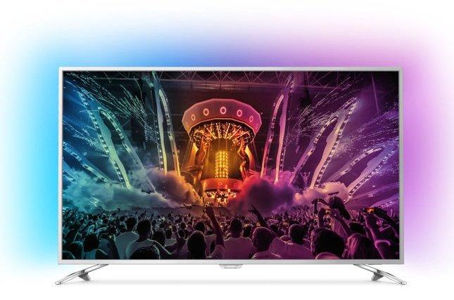 Philips 55PUS6561/12 – 55 Zoll 4K Ultra-HD LED TV mit Ambilight für 749€