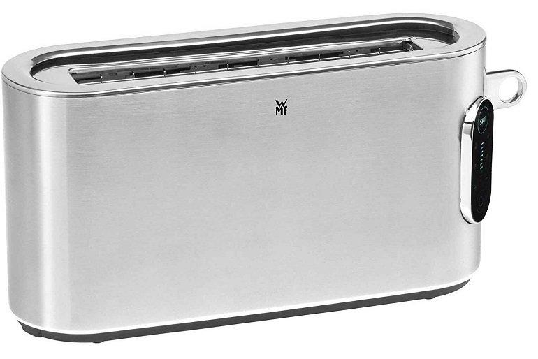 WMF Cromargan Lumero Langschlitz-Toaster mit Brötchenaufsatz 2