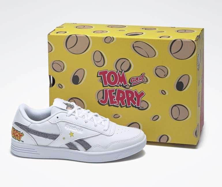 Reebok Damen Tom and Jerry Royal Techque T Sneaker für 54,55€ inkl. Versand (statt 68€)