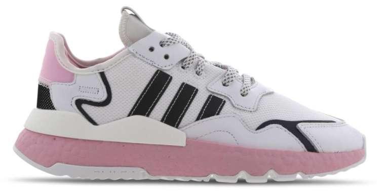 """Adidas Originals Nite Jogger Damen Sneaker im """"White/Pink""""-Colourway für 55,99€ (statt 70€)"""