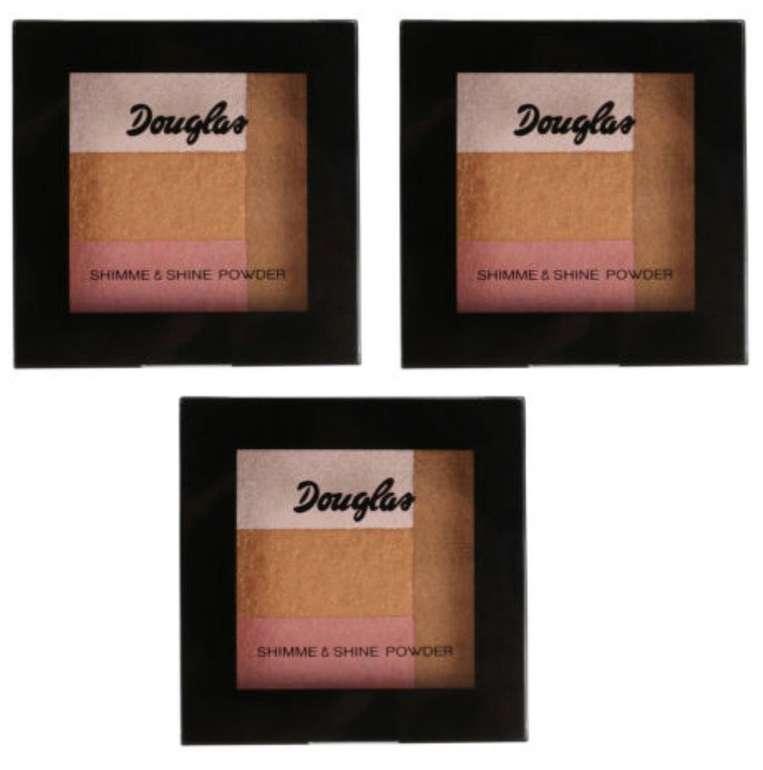 3er Pack Douglas 925434 Teint Make-up Holidays Effect MU0301 Shimmer+Shine 9g für 16,90€ (statt 24€)