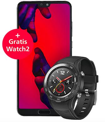 Huawei P20 Pro Smartphone + Huawei Watch 2 4G (LTE) für 637€ inkl. Versand