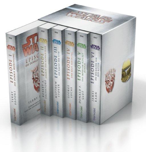 Star Wars™: Episoden I-VI im Schuber, Science Fiction (Taschenbuch) für 19,99€