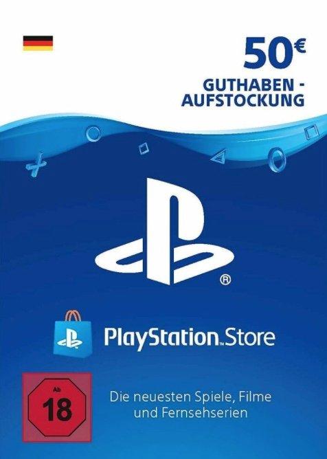 50€ PSN Playstation Network Guthaben für 39,49€