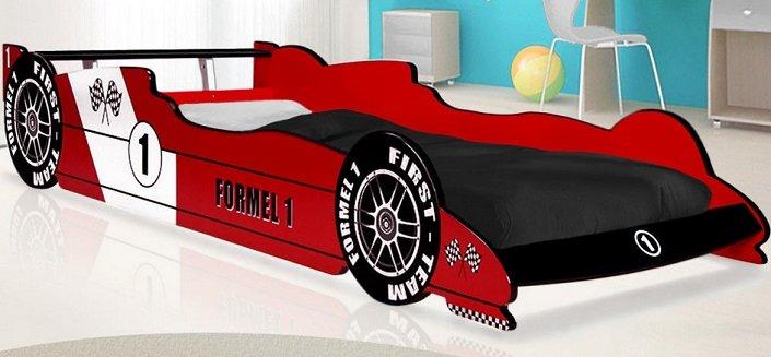 Deuba Kinderbett im Formel 1 Design 90 cm x 200 cm für 109,95€ (statt 140€)