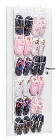 Umi - Tür-Schuhaufbewahrungsystem mit 24 Taschen für 7,69€ mit Prime