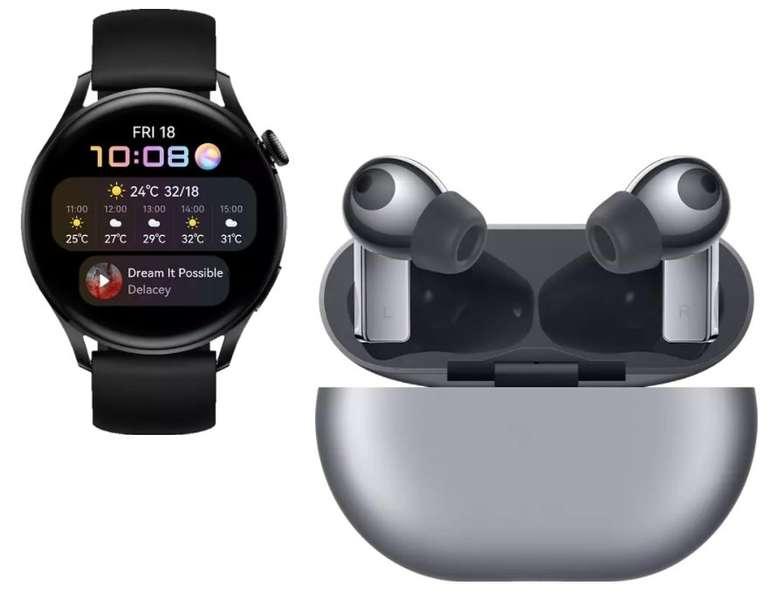 Huawei Watch 3 Smartwatch + Huawei FreeBuds Pro für 349€ inkl. Versand (statt 458€)