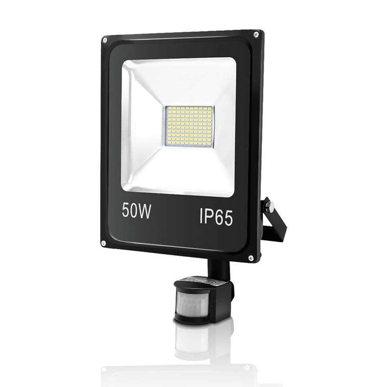 Vingo LED Strahler mit Bewegungsmelder im Angebot, z.B. 50 Watt für 15,94€