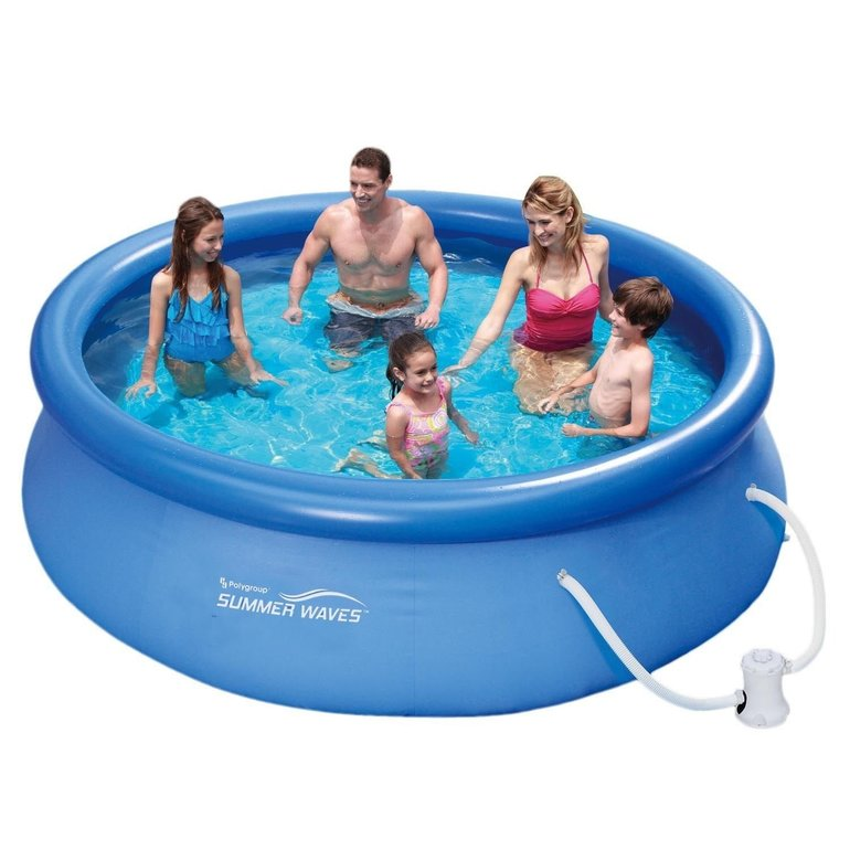 Summer Waves Fast Set Quick Up Pool (366x91cm) + Pumpe für 59,95€ (statt 100€)