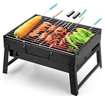 Uten Barbecue - Tragbarer BBQ Kohle Smoker Grill für 12,99€ inkl. Prime Versand
