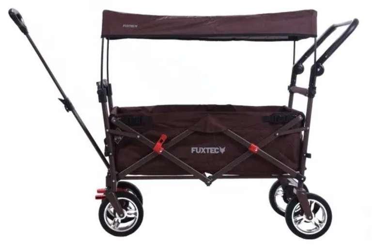 Fuxtec FX-CT700 Bollerwagen mit UV-geschütztem Sonnendach und Schiebegriff für 142,80€ (statt 167€)