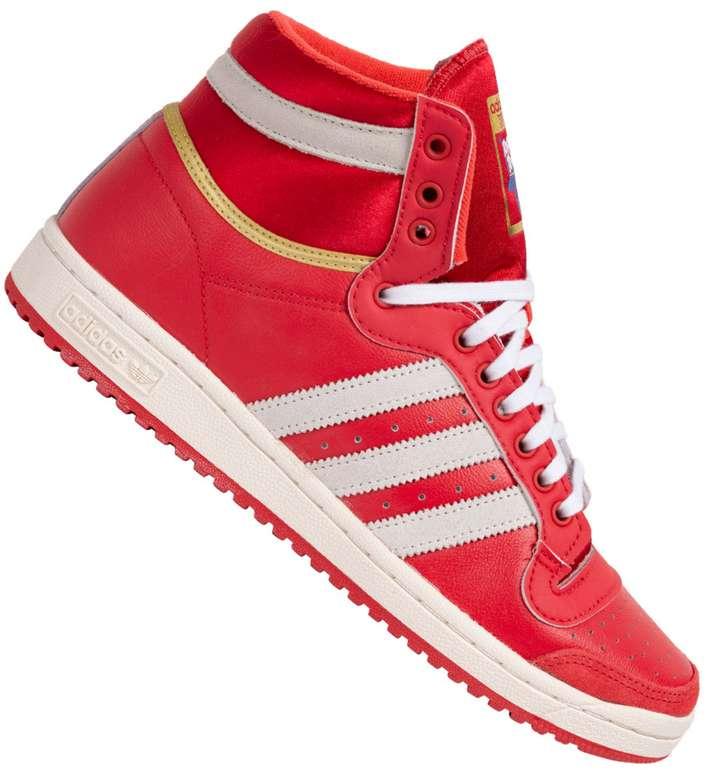 adidas Originals Top Ten Hi Glory Sneaker in Rot für 49,99€ inkl. Versand (statt 60€)