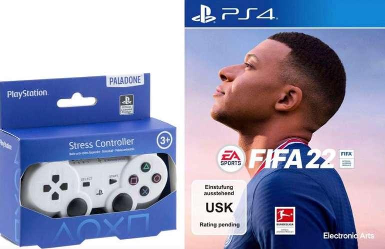 FIFA 22 (PS4) inkl. Stressball Controller für 52,94€ (statt 66€) oder (PS5) Version für 62,94€ inkl. Versand