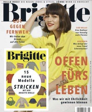 """6 Ausgaben """"Brigitte"""" für 24€ + 25€ Amazon Gutschein"""