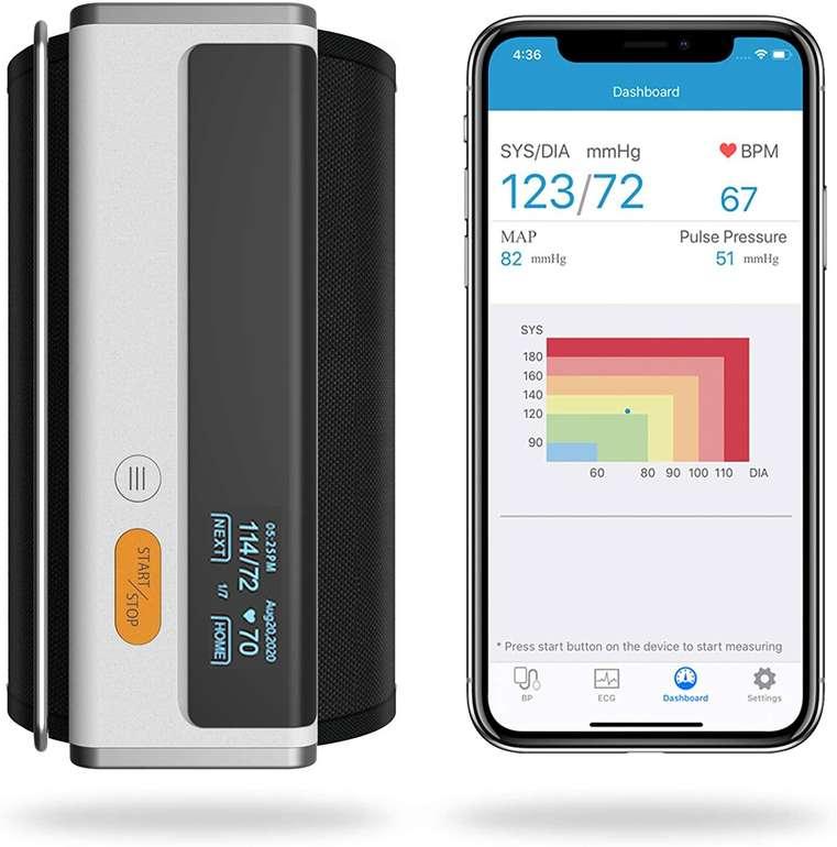 Wellue Armfit Plus Blutdruckmessgerät mit EKG-Funktion für 69,99€ (statt 120€)