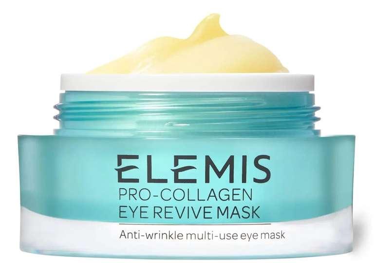 Elemis Sommer-Sale mit bis zu 30% Rabatt + 5% on Top z.B. Pro-Collagen Eye Revive Mask für 49,87€ (statt 70€)