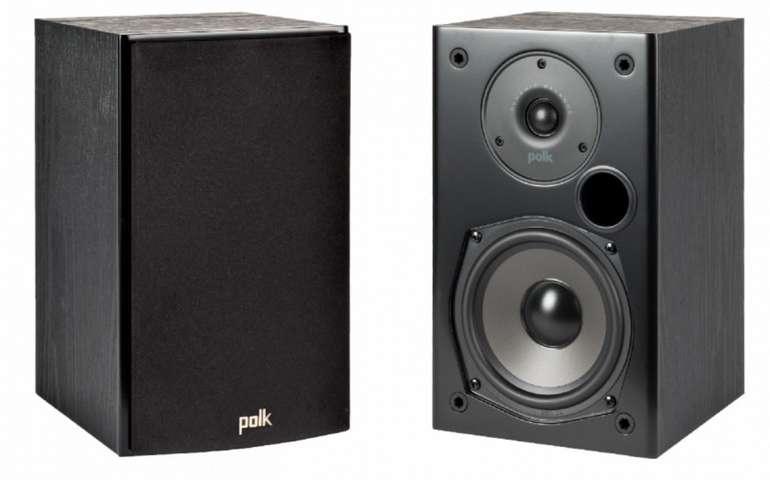 Polk Audio T15 Lautsprecher in schwarz (2-Wege, Paar) für 91,98€inkl. Versand (statt 119€)