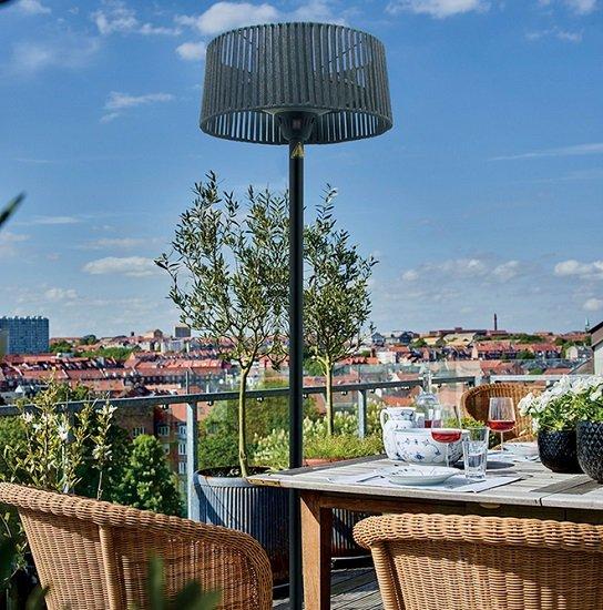 Bessagi Garden Terrassenstrahler Marlon mit 3 Heizstufen (max. 2.100W) für 75,25€ (statt 149€)