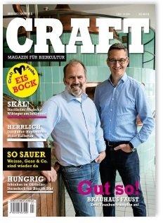 1 Ausgabe Meiningers Craft (Magazin für Bierkultur) gratis