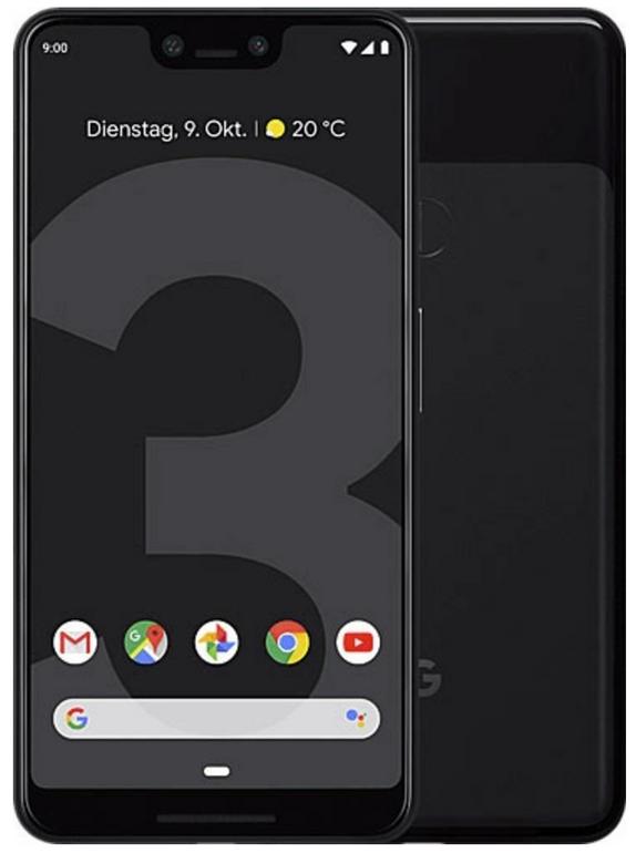 Bestpreis! Google Pixel 3 XL (Just Black, 64GB) für 502€ (statt 679€) - MM Club