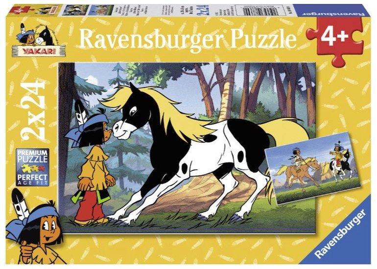 Ravensburger Puzzle Yakari und kleiner Donner (88690) für 5€ inkl. Versand